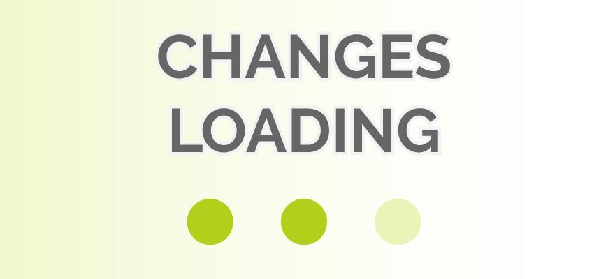 Change Log Changes Loading