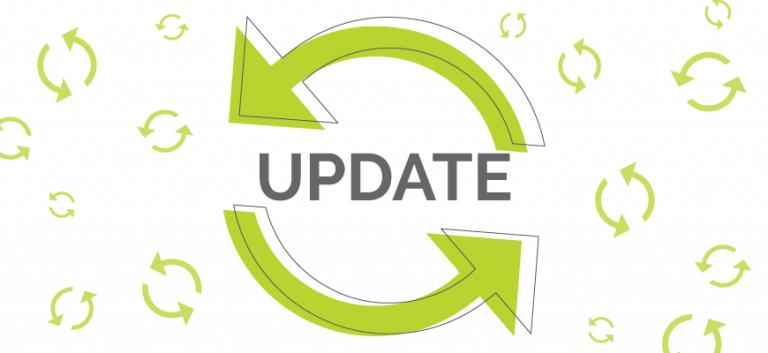 Change Log Update Arrows
