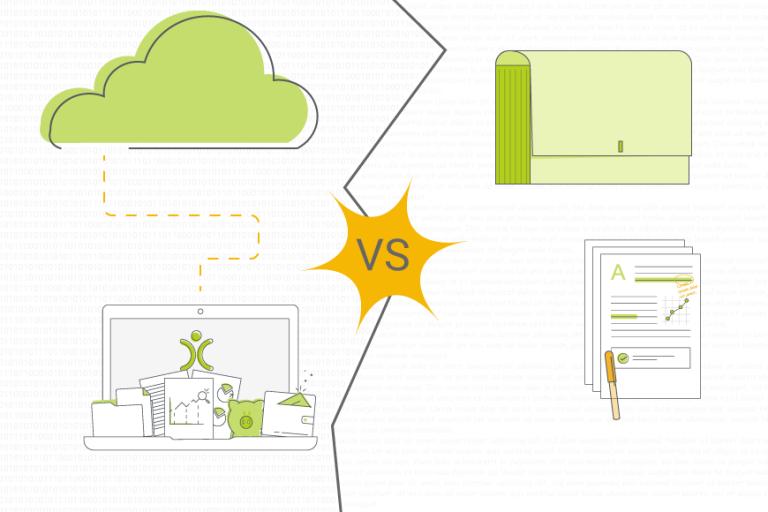 Online CRM vs Offline Solution