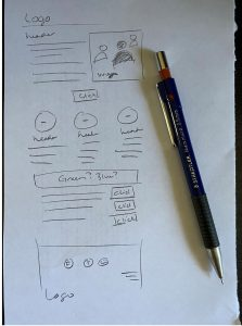 Email Template Sketch